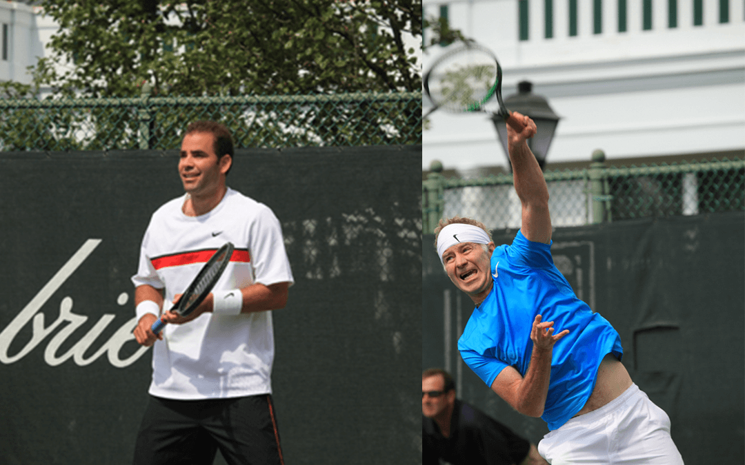 McEnroe and Sampras Battle it Out at The Greenbrier