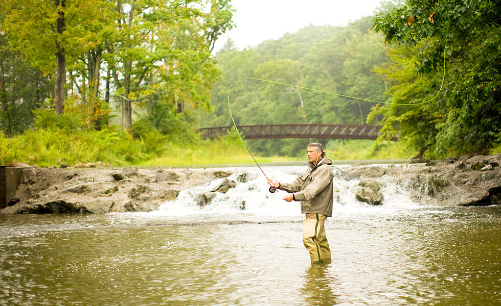 Amenities-fly fishing