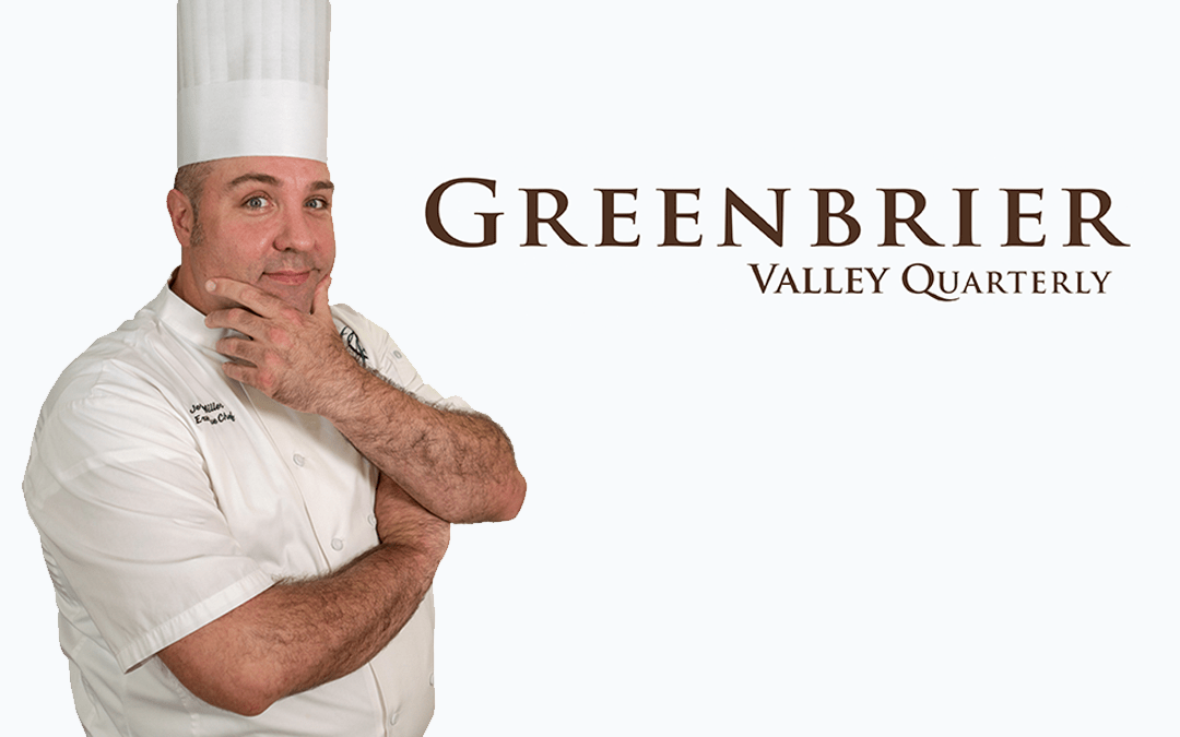 GSC Chef Featured in Greenbrier Valley Quarterly