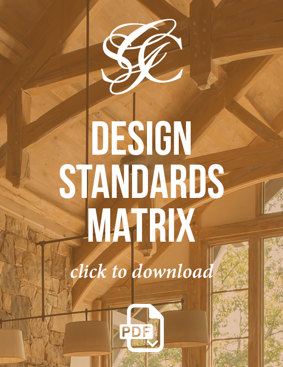 Design Standards Matrix